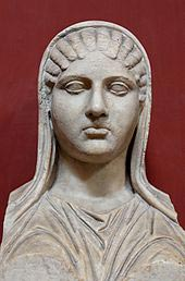 Aspasia of Miletus. Pericles' companion.